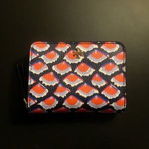 Tory Burch Kerrington Zip Coin Wallet